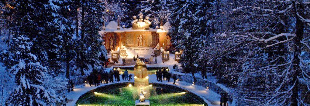 Hellbrunner Adventzauber, Wasserspiele Hellbrunn Adventmarkt/Christkindlmarkt/Weihnachtsmarkt