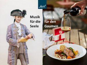 Bewerb Konzert und Abendessen